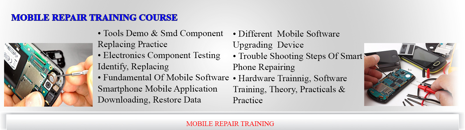 mobile repair course institute